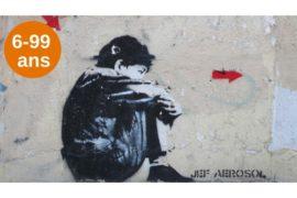 anniversaire street art à la butte aux cailles et mini atelier de street art