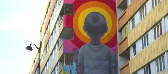 """street art à Paris dans le 1""""ème arrondissement"""