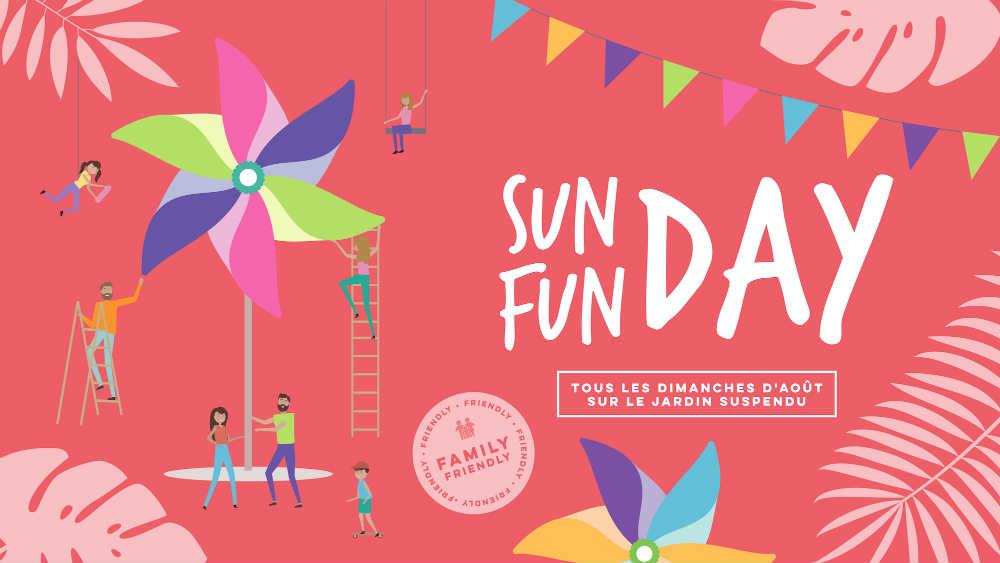 Les Sunday Funday, animations gratuites pour les familles au Jardin Suspendu