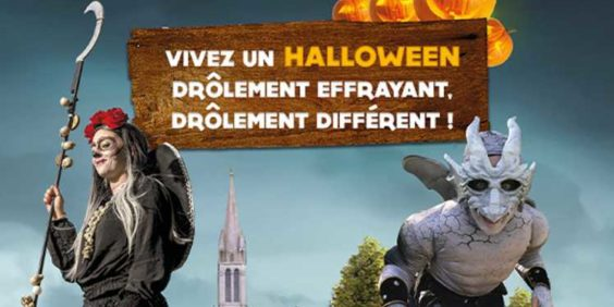 Halloween chez France Miniature