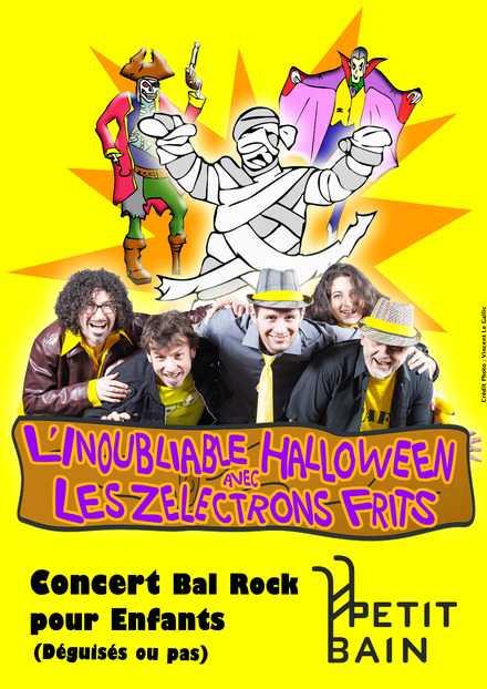 les zelectrons frits, le concert rock d'Halloween