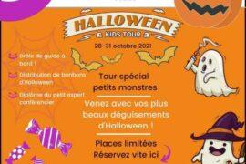 kids tour Halloween 2021