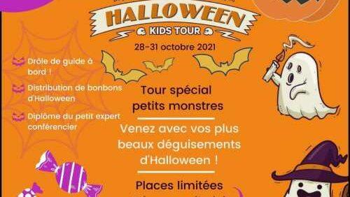 Kids Tour en bus panoramique avec TOOTbus