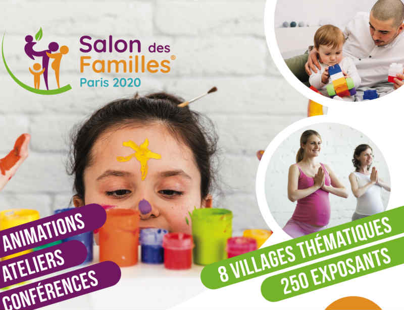 the family fair at the Porte de Versailles in January