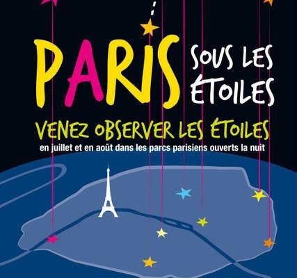 Paris sous les étoiles, édition 2019