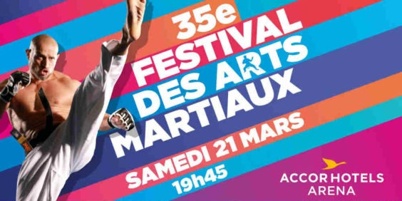 Jeu concours :  12 invitations pour le festival des Arts Martiaux