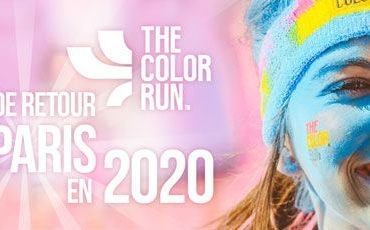 the color run 2020 à Paris
