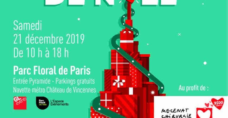 Christmas solidarity sale with Mécénat Cardiaque