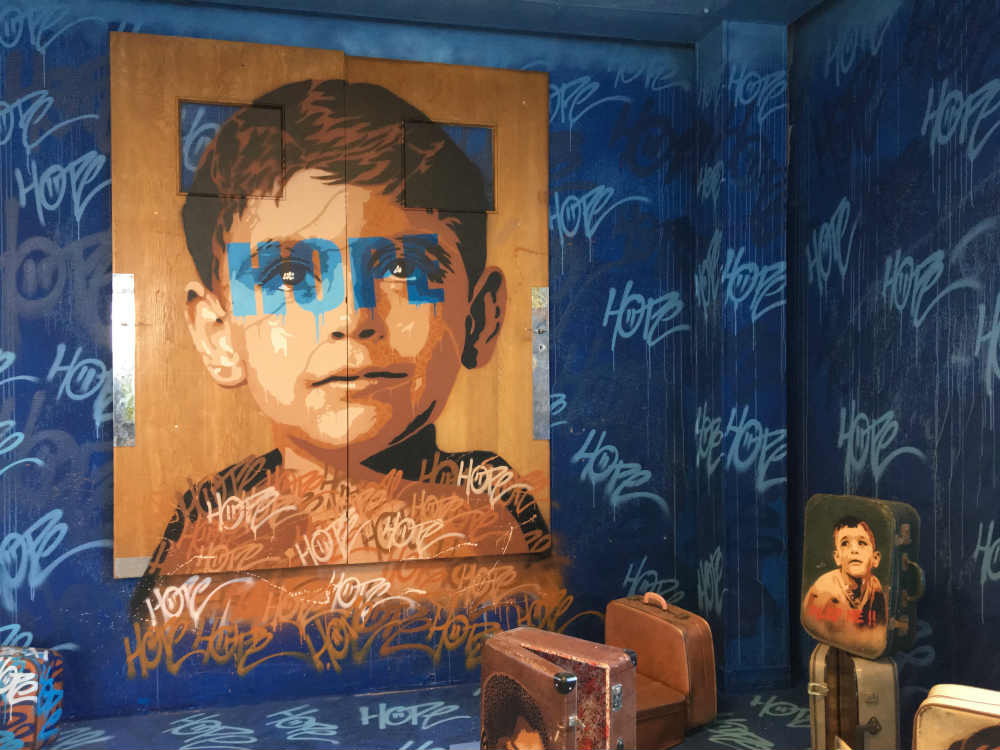 Raf Urabn, street art artiste