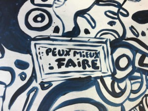 free street art exhibition in Joinville-le-pont