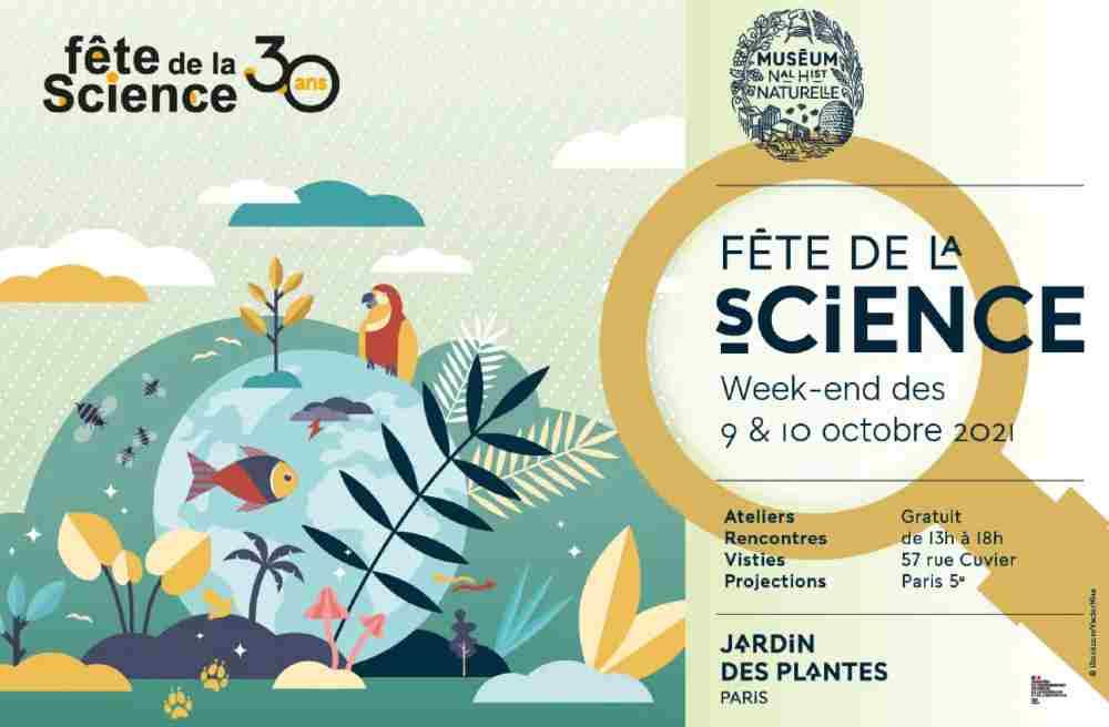 La fête de la science 2021 au jardin des plantes