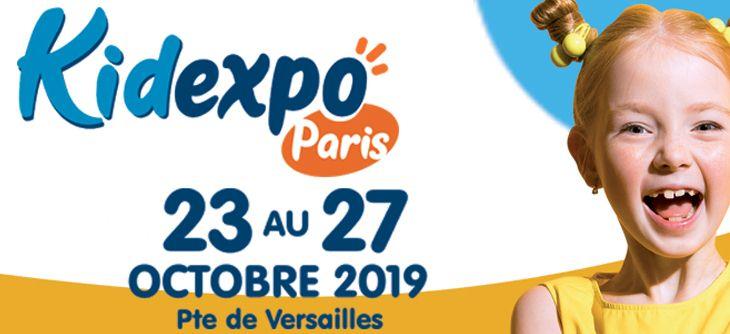 Kidexpo Paris 2019, un évenement familial en octobre