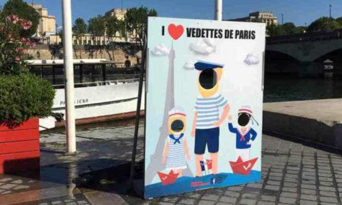 la croisière enfant des vedettes de Paris