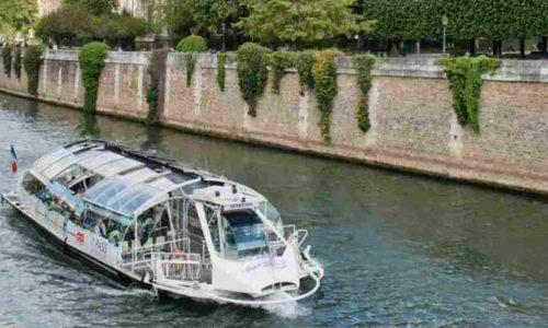 bateau bus Paris