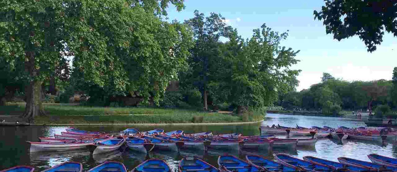 boat rental price bois de vincennes