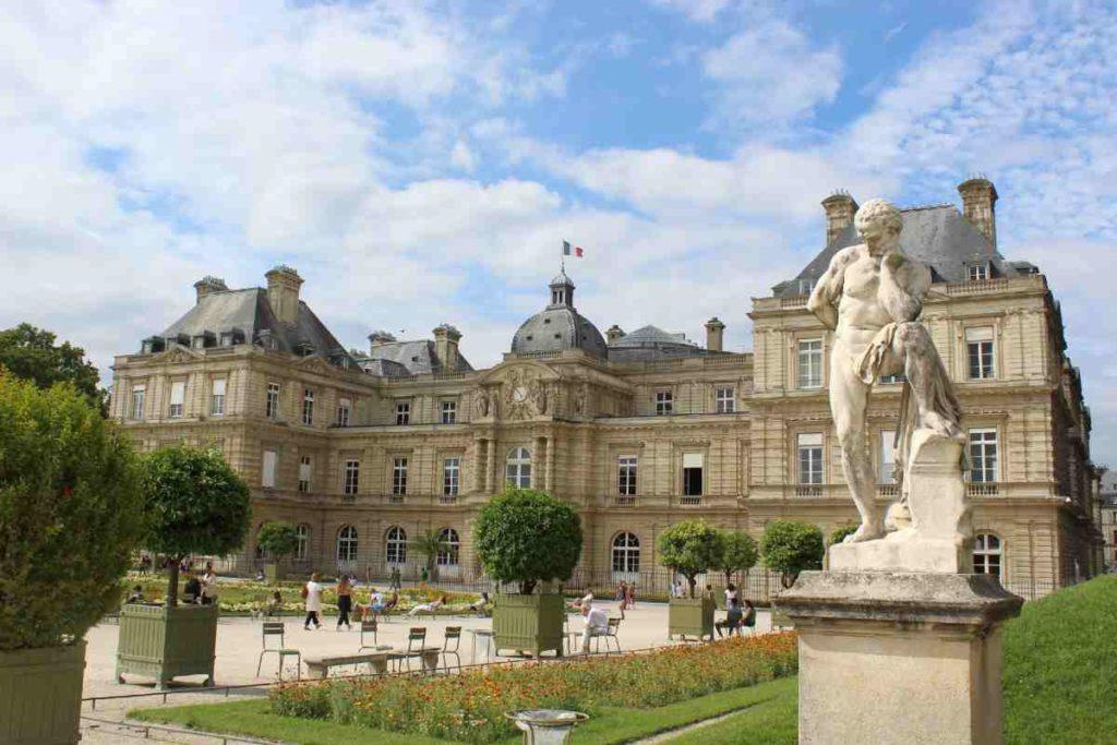 le jardin du luxembourg à Saint-Germain-des-prés