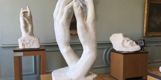 """In Rodin's hands"""