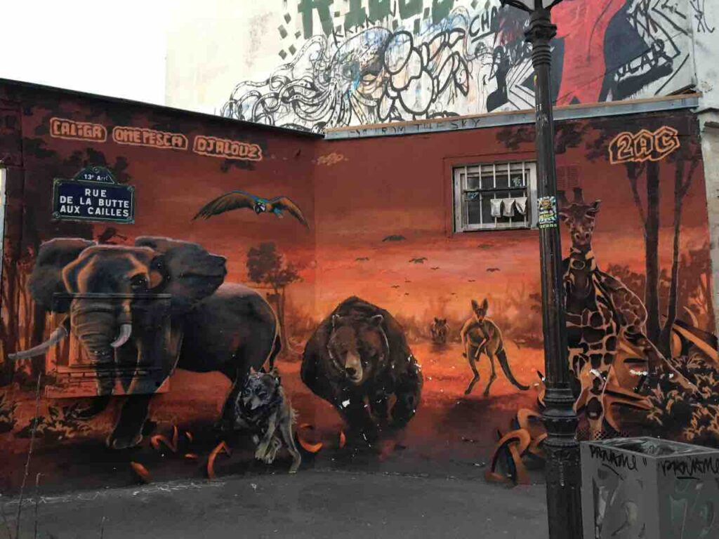 street art tours in Paris