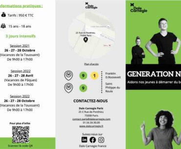 stages pour ados Generation next