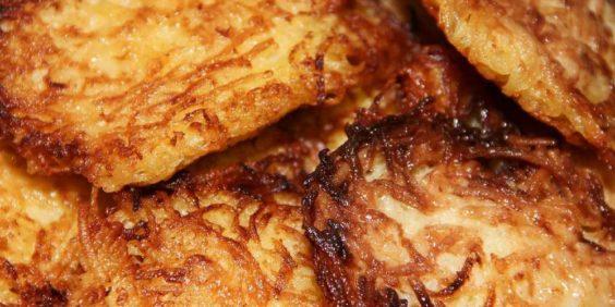 Galettes de pommes de terre (ou rösti suisse)
