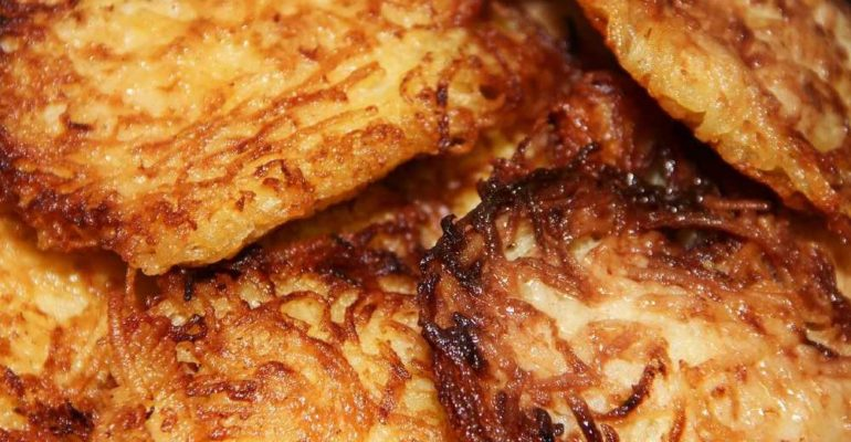 the recipe for Roestis or Swiss röstis