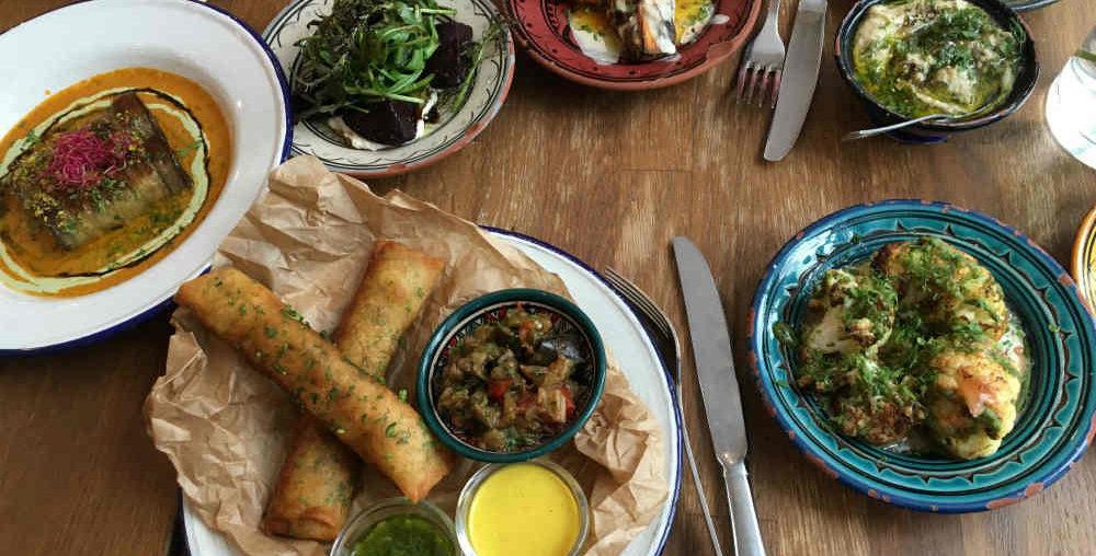 Tavline, restaurant israélien rue du roi de Sicile dans le Marais