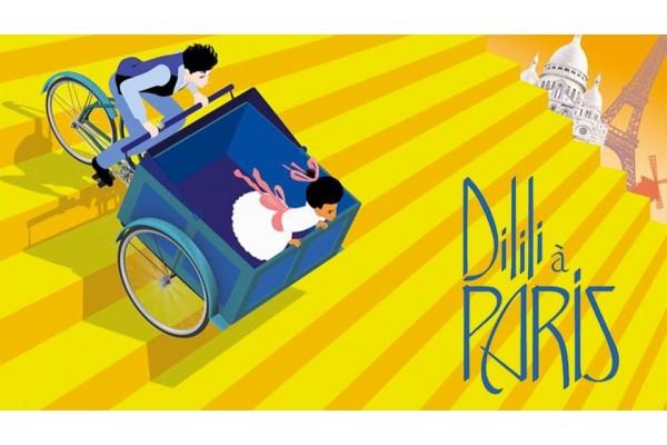 """visite guidée sur le thème de """"Dilili à Paris"""" le dernier film d'animation de miche Ocelot"""