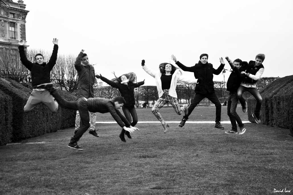 anniversaire original : shooting dans Paris avec un photographe